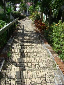 99 steps St. Thomas
