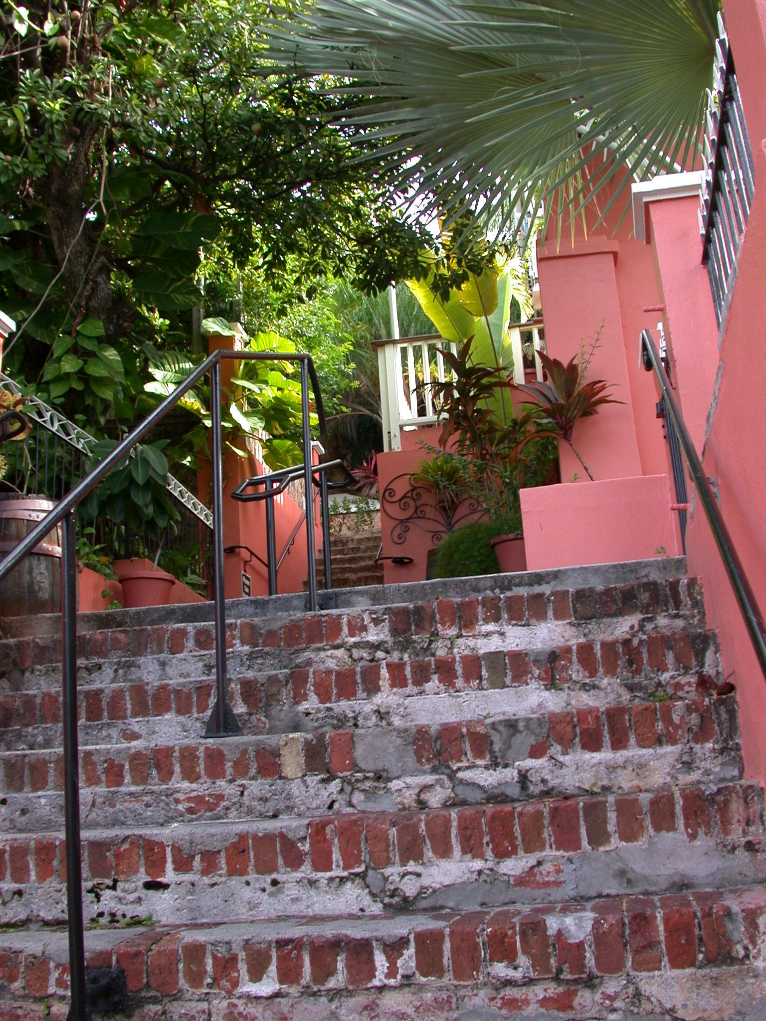 Old steps 1829